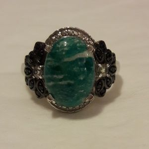 NWOT Russian Amazonite (7.20cts) Ring